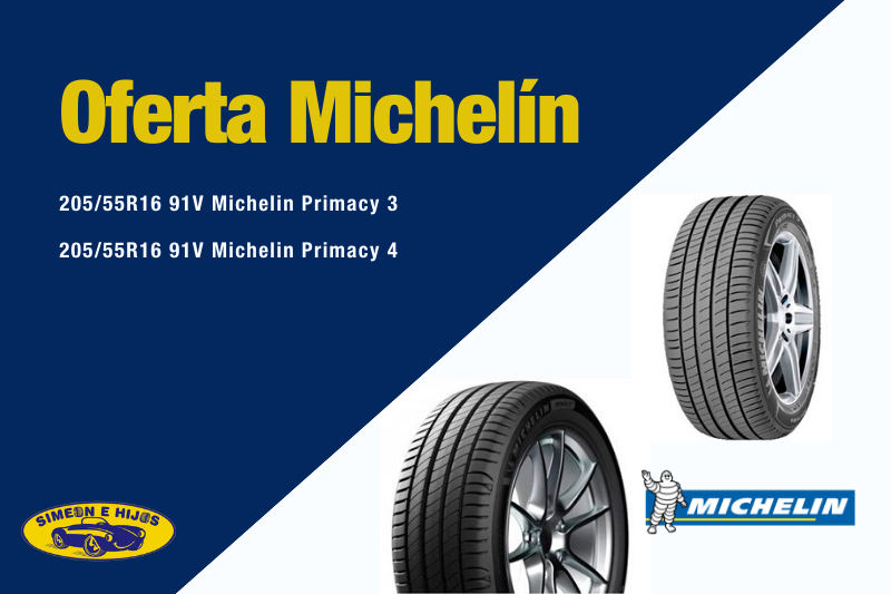 Oferta Neumáticos Michelin Primacy